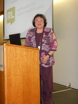 Poh-Lin Lim, presenter - Wound Management and Infection Prevention and Control